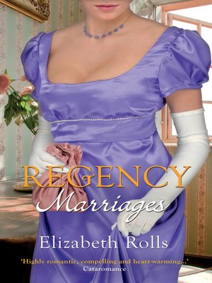 cover image of Regency Marriages