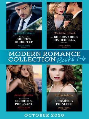 cover image of Modern Romance October 2020 Books 1-4