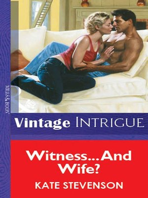 cover image of Witness... and Wife?