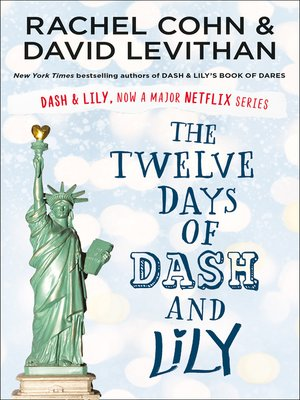 cover image of The Twelve Days of Dash and Lily