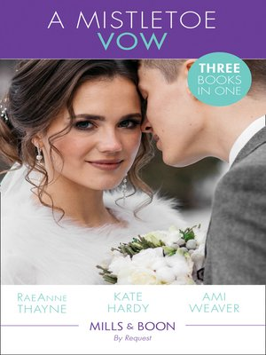 cover image of A Mistletoe Vow