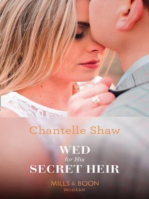 cover image of Wed For His Secret Heir