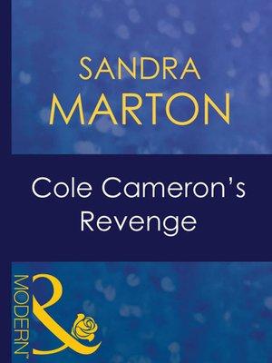 cover image of Cole Cameron's Revenge
