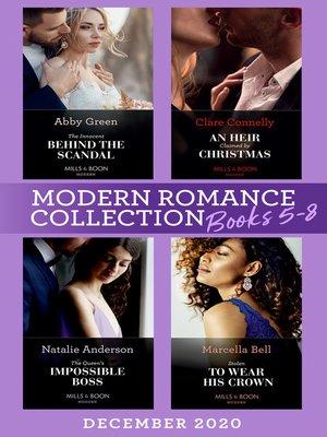 cover image of Modern Romance December 2020 Books 5-8
