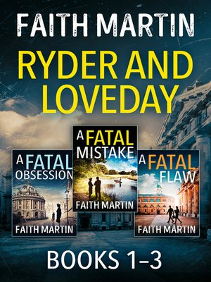 cover image of The Ryder and Loveday Series Books 1–3