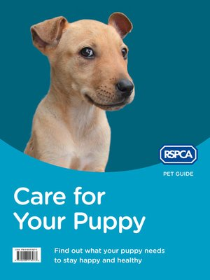 cover image of Care for Your Puppy (RSPCA Pet Guide)
