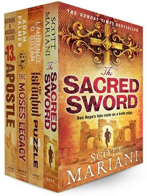 cover image of Conspiracy Thriller 4 E-Book Bundle