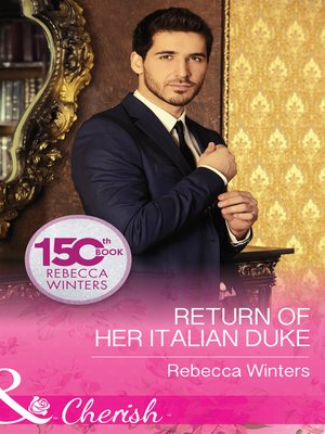cover image of Return of Her Italian Duke