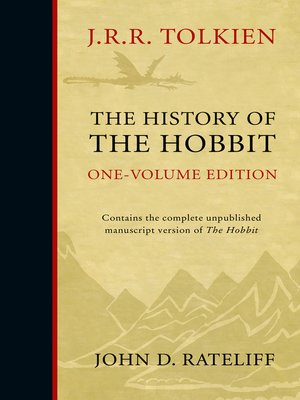 cover image of The History of the Hobbit