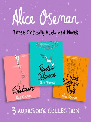 cover image of Alice Oseman Audio Collection