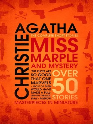 cover image of Miss Marple and Mystery