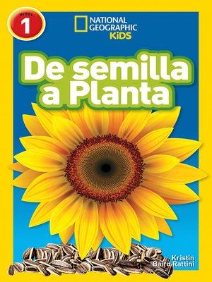 cover image of De Semilla a Planta