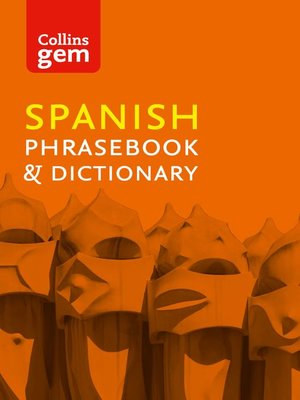 cover image of Collins Spanish Phrasebook and Dictionary Gem Edition