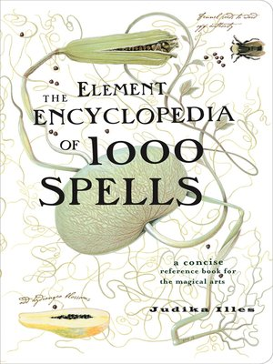 cover image of The Element Encyclopedia of 1000 Spells