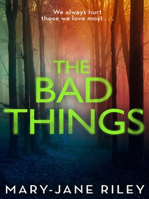 cover image of The Bad Things