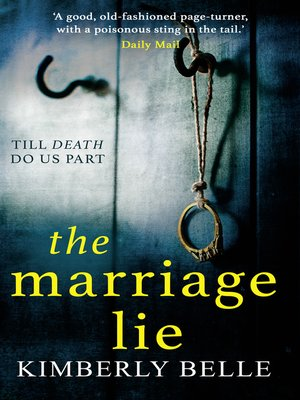 cover image of The Marriage Lie