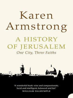 cover image of A History of Jerusalem