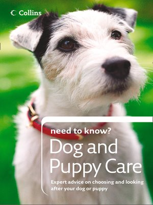 cover image of Dog and Puppy Care