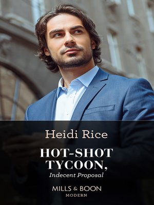 cover image of Hot-Shot Tycoon, Indecent Proposal