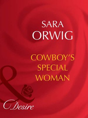 cover image of Cowboy's Special Woman