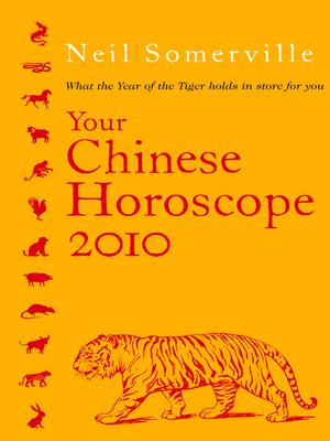 cover image of Your Chinese Horoscope 2010