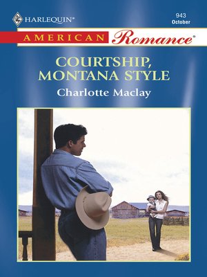 cover image of Courtship, Montana Style