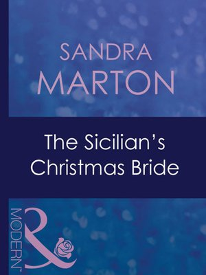 cover image of The Sicilian's Christmas Bride