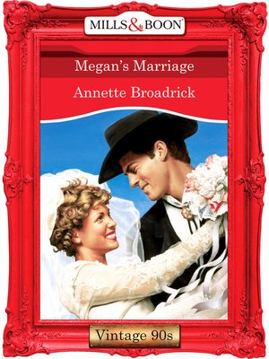 cover image of Megan's Marriage
