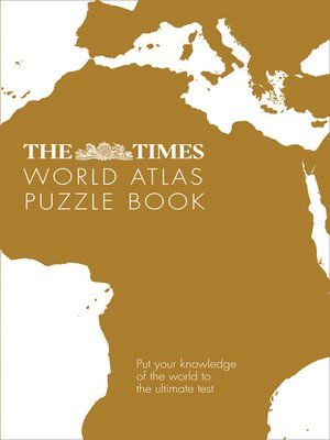 cover image of The Times World Atlas Puzzle Book