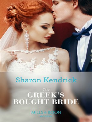 cover image of The Greek's Bought Bride