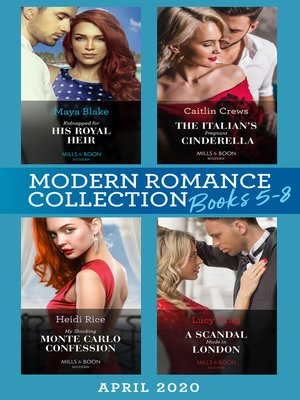 cover image of Modern Romance April 2020 Books 5-8