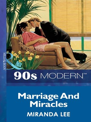 cover image of Marriage and Miracles