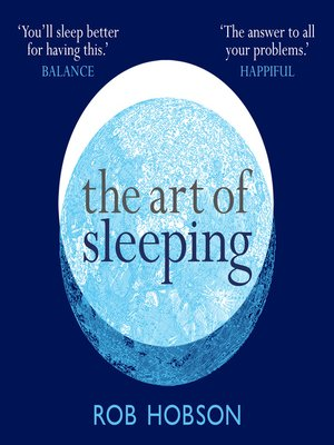 cover image of The Art of Sleeping