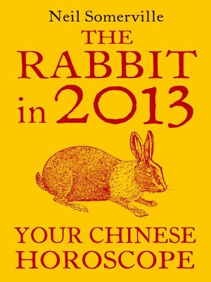 cover image of The Rabbit in 2013