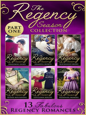 cover image of The Regency Season Collection, Part 1