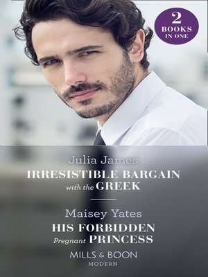 cover image of Irresistible Bargain With the Greek / His Forbidden Pregnant Princess