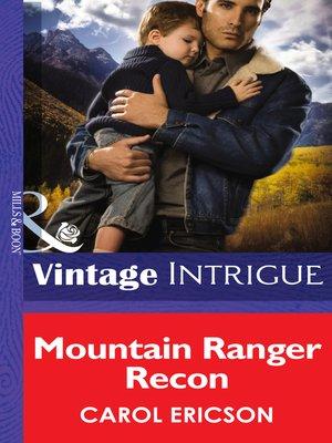 cover image of Mountain Ranger Recon