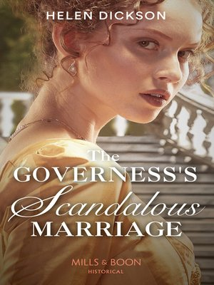 cover image of The Governess's Scandalous Marriage