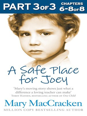 cover image of A Safe Place for Joey, Part 3 of 3