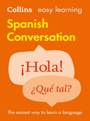 cover image of Easy Learning Spanish Conversation