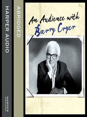 cover image of An Audience with Barry Cryer