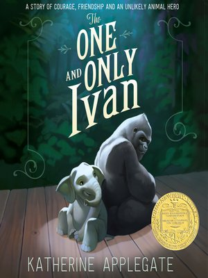 the one and only ivan book cover