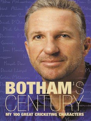 cover image of Botham's Century