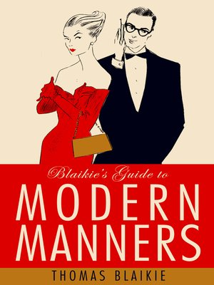 cover image of Blaikie's Guide to Modern Manners