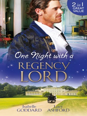 cover image of One Night with a Regency Lord