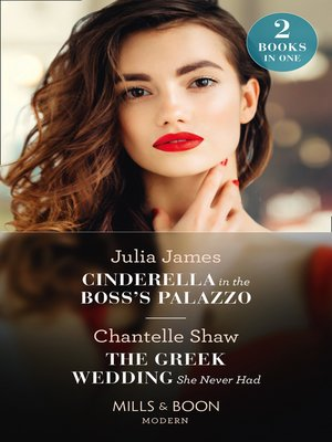 cover image of Cinderella In the Boss's Palazzo / the Greek Wedding She Never Had
