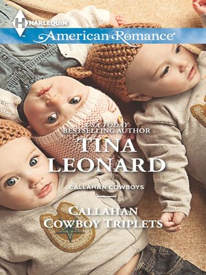 cover image of Callahan Cowboy Triplets
