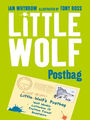 cover image of Little Wolf's Postbag