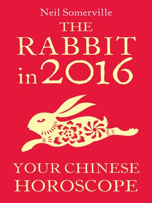 cover image of The Rabbit in 2016