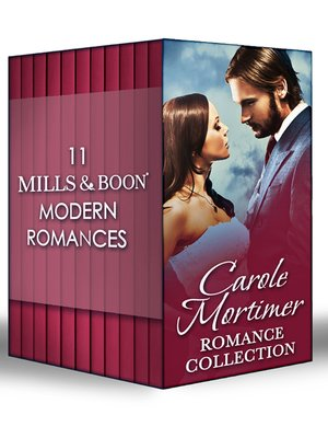 cover image of Carole Mortimer Romance Collection